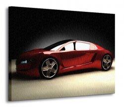 Obraz na ścianę - Samochód - 120x90 cm