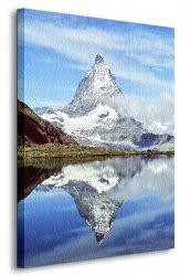 Obraz ścienny - Matterhorn, Szwajcaria - Góry - 120x90 cm