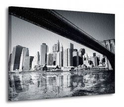 Obraz na ścianę - New York - 120x90 cm