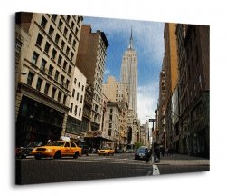 Obraz na ścianę - NYC Empire State Building - 120x90 cm