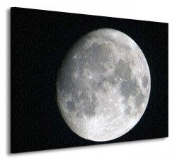 Księżyc - Obraz na płótnie