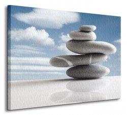 Kamienna kompozycja - Obraz na płótnie