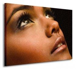 Brown Portrait - Obraz na płótnie