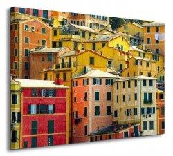 Camogli - Włochy - Obraz na płótnie