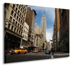 NYC Empire State Building - Obraz na płótnie