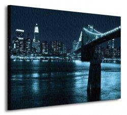 Manhattan and Brooklyn Bridge - Obraz na płótnie