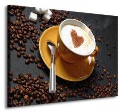 Coffe - Obraz na płótnie