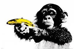 Steez Monkey Banana - plakat
