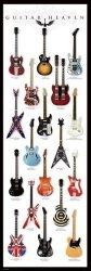 Gitary - Guitar Heaven - plakat