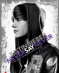 Justin Bieber Never Say - plakat