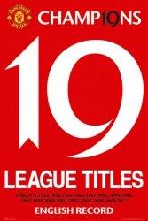 Manchester United 19 Titles - plakat