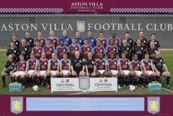 Aston Villa Zdjęcie Drużynowe 11/12 - plakat