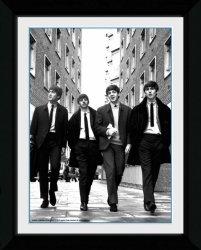 The Beatles In London - obraz w ramie