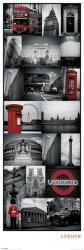 Londyn, Kolekcja zdjęć - plakat