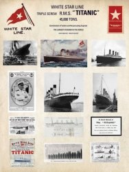 Titanic (Collage) - reprodukcja