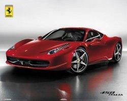 Ferrari - 458 Italia - plakat