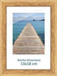 Ramka drewniana 13x18 cm