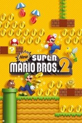 Nintendo Super Mario Brothers 2 - plakat