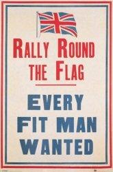 Rajd dookoła flag - plakat