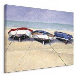 Beach Boats, St Ives - Obraz na płótnie