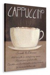 Cappuccino - Obraz na płótnie