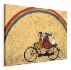 Somewhere Under a Rainbow - Obraz na płótnie