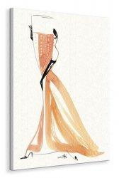 Champagne Rose  - Obraz na płótnie