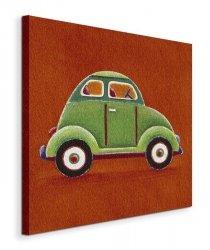 Green Car - Obraz na płótnie