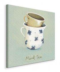 Mint Tea - Obraz na płótnie