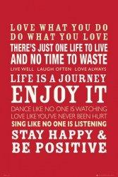 Cytaty życia - plakat