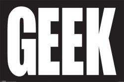 Geek - plakat