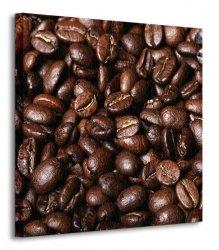 Świeże Ziarna Kawy IV - Obraz na płótnie