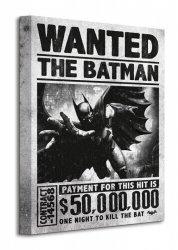 Batman Arkham Origins (Wanted) - Obraz na płótnie