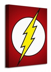 Dc Comics (The Flash Symbol) - Obraz na płótnie