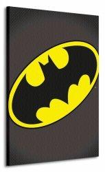 Dc Comics (Batman Symbol) - Obraz na płótnie