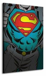 Dc Comics (Superman Torso) - Obraz na płótnie