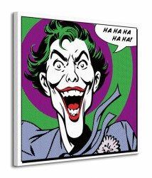 Joker (Quote) - Obraz na płótnie
