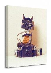 Obraz do salonu - Robot Cat