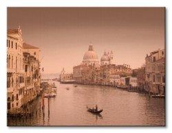 Obraz na płótnie - Canal Grande, Venice - 80x60 cm