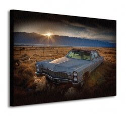 Obraz do salonu - Last Light - Keeler, California