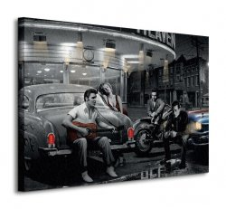 Obraz do salonu - Legendary Crossroads - 80x60cm