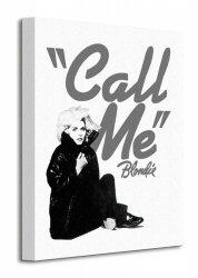 Blondie (Call Me) - Obraz na płótnie