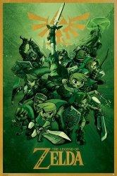 The Legend Of Zelda (Link) - plakat