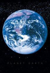 Fototapeta - Planeta Ziemia - Kosmos - 232x158cm