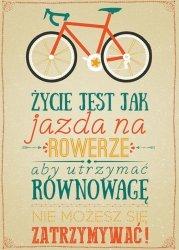 Rower II - plakat