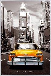 New York (taxi no 1) - obraz