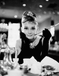 Audrey Hepburn (Breakfast at Tiffanys) - plakat
