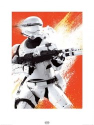 Star Wars The Force Awakens Flametrooper - reprodukcja