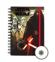 Star Wars 7 Kylo Ren i Troopers - notes