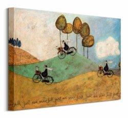 Obraz na płótnie - Just One More Hill - 50x40 cm
